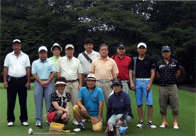 7/14大石支部親睦ゴルフ大会