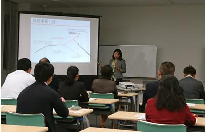 平成28年10月13日『経営革新セミナー』開催の様子