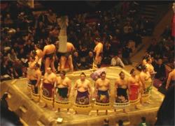 上尾中央支部「支部会員の集い」(2007年1月・国技館)