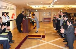 平成23年度表彰式の様子