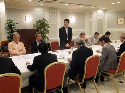 日本銀行との意見交換会の様子